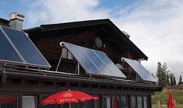 Komponenten einer Solarthermieanlage