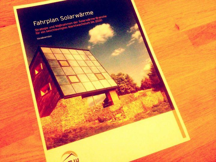 Fahrplan Solarwärme