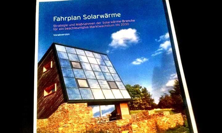 Entwicklung des Solarwärmemarktes: Solarwärme Fahrplan