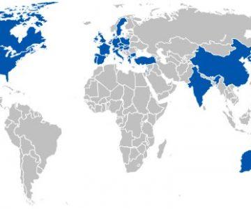 Länder in denen Solar Keymark verwendet wird