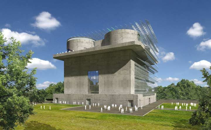 Fernwärme im Energiebunker