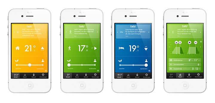 Tado Heizungs-App