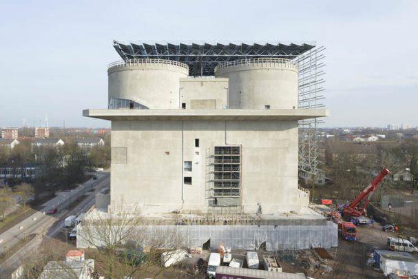 Solare Nahwärmenetze Hamburg Energiebunker