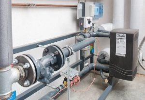 Klein und fein: Übergabestation für Fernwärme Bild: (c) Energy Solutions GmbH