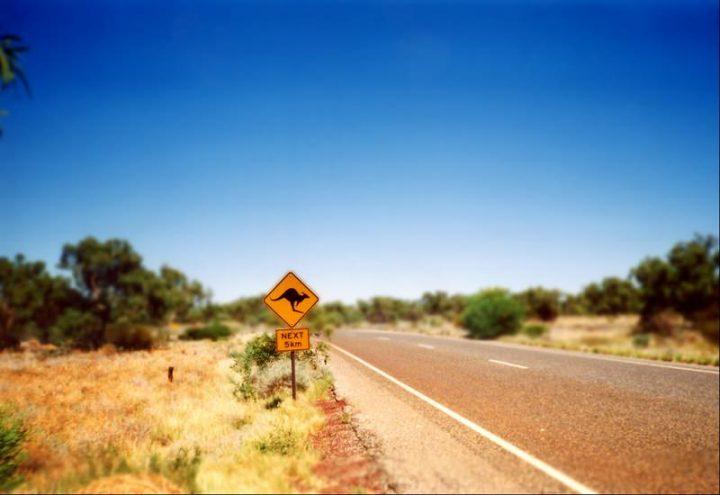 Australien-Energiewende-Wärme-Schild