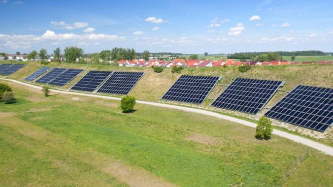 Größte Solaranlage Deutschlands