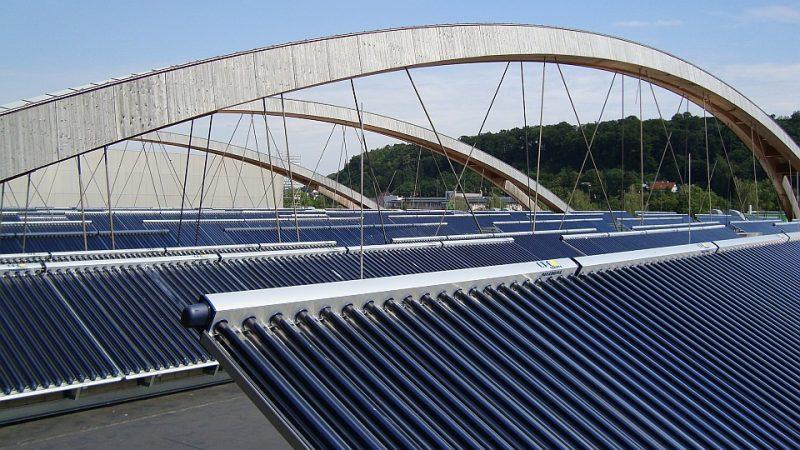 Solaranlagen im Winter: Frieren sie ein?
