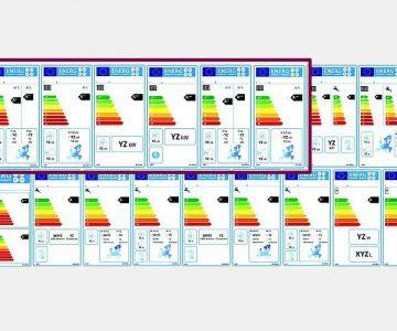 EU-Energielabel für Heizgeräte
