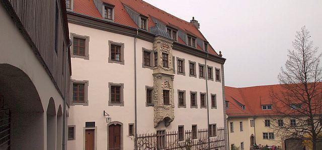 Innenhof der Evangelischen Akademie Meißen
