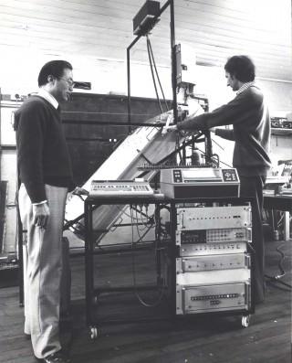 Yin und Harding 1982 in Sydney (Bild: Yin Zhiqiang)