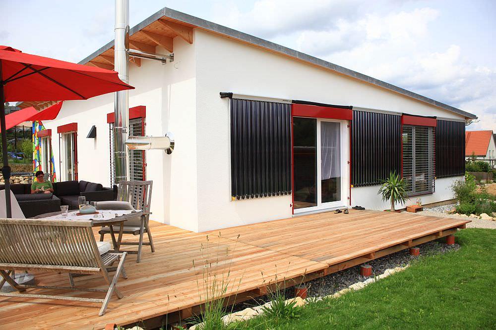 wie funktioniert ein sonnenenergiehaus mit vakuumr hrenkollektor ecoquent positions. Black Bedroom Furniture Sets. Home Design Ideas
