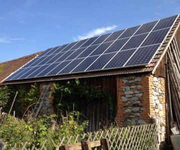 Photovoltaik Leistung im Vergleich zu Solarwärme