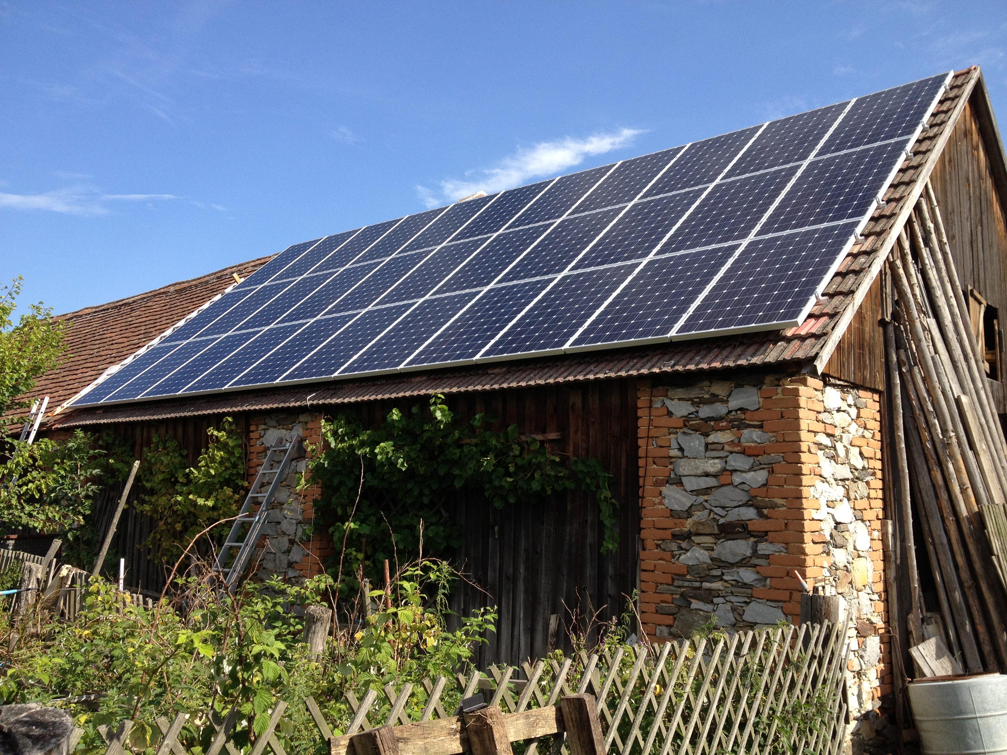 wie viel heizung schaffen 3 4 photovoltaikmodule. Black Bedroom Furniture Sets. Home Design Ideas