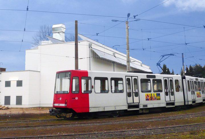 Solarthermie bei den Kölner Verkehrsbetrieben