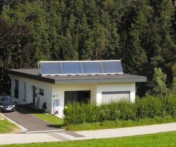 Sonnenhaus Vakuumröhrenkollektor