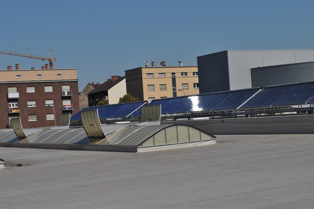 Mr. Wash Mannheim Solarthermie-Anlage Ritter Solar XL