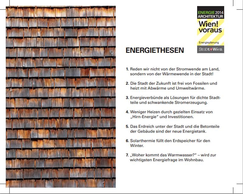 Sieben Energiethesen für Wien all