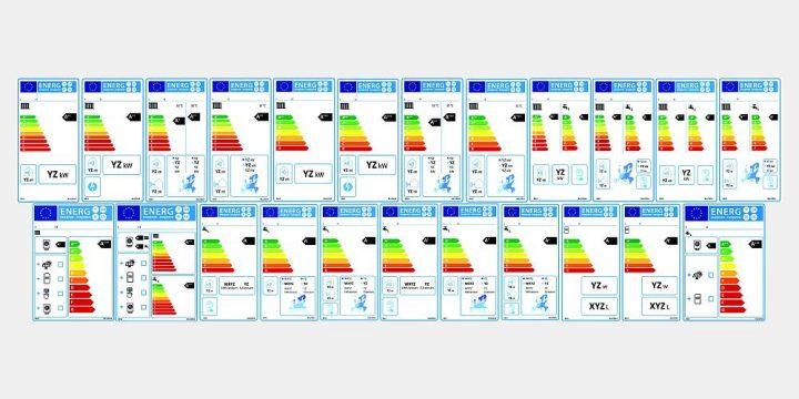 EU-Energielabel für Heizung und Warmwasser in Bildern erklärt