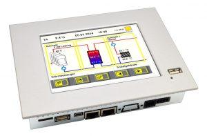 Touchscreen für die Regelungstechnik