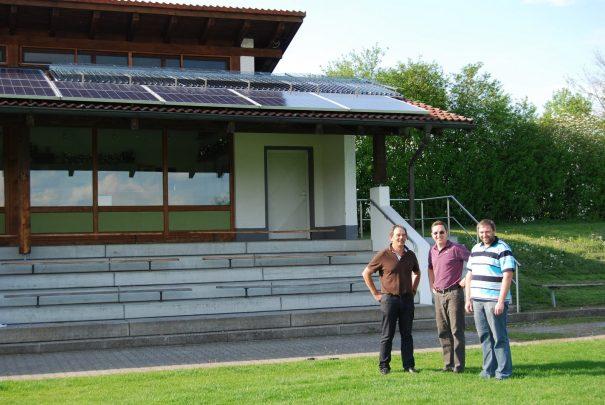 Solarthermie-Projekt TSV Pfaffenhausen Bleher Haustechnik