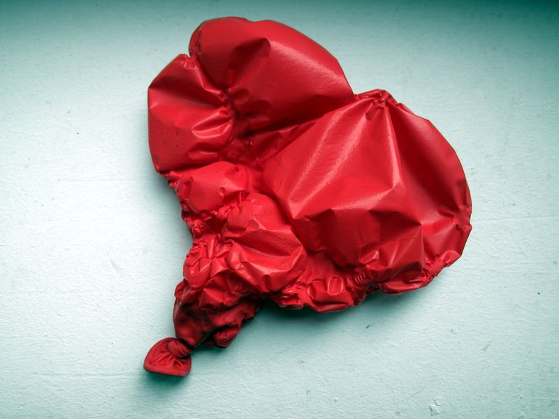 Luftballon schlapp