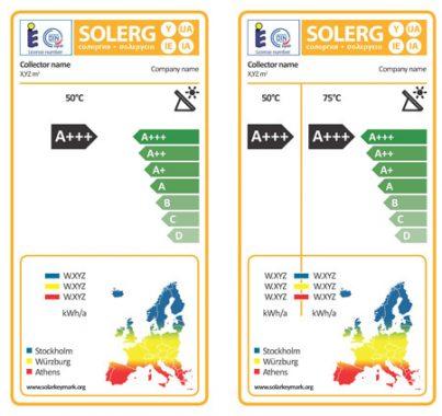 kollektorertragslabel-Kollektorlabel-Solarthermie