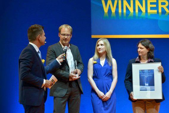 InterSolar Award 2015 für Ritters Dampfmaschine
