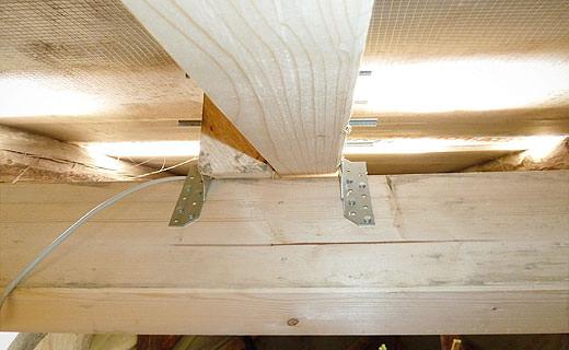 Projekt des Monats Peter Asse Schäfer Installationen Dachbalken