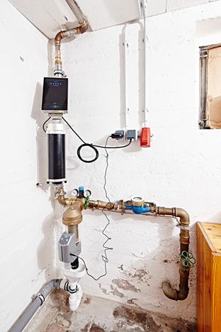 Die moderne Wasserbehandlung Permatrade. Foto: Schäuble