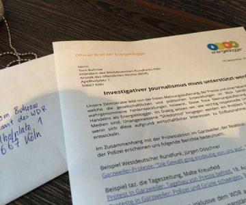 Offener Brief an den WDR