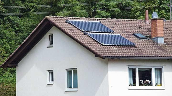 Mit der Sonne zum Sonnenenergiehaus