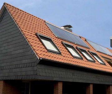 63% eingespart dank Holzpellets und Solarthermie