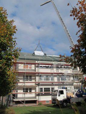 Aqua Plasma Kollektoren kommen aufs Dach