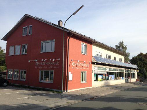 Der Betrieb Wochermaier und Glas unseres Handwerkers des Monats in Ebersberg. Foto: Wochermaier