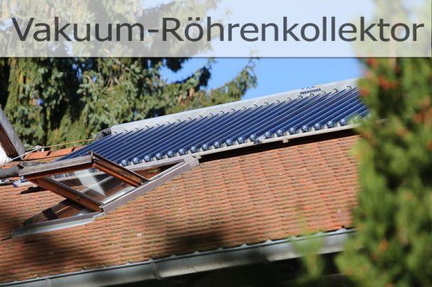 grün heizen mit Solarthermie
