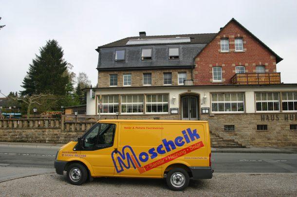 Hotel Haus Hunke Dortmund Projekt des Monats Moscheik Schwerte