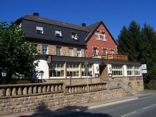"""So sah das Hotel """"Haus Hunke"""" in Dortmund ohne Solarthermie-Anlage aus. Foto: A. Moscheik"""