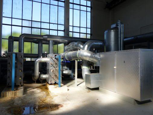 Die Solarthermie-Anlage Jena-Pösneck von Ritter Solar XL kommt ohne
