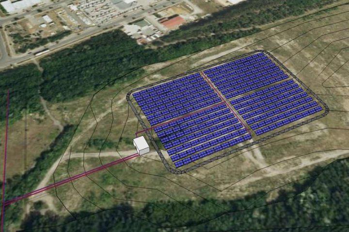 Solarthermie-Großanlage in Senftenberg - gebaut von Ritter XL Solar