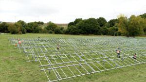Solaranlage für den Nahwärmeverbund Neuerkirch-Külz