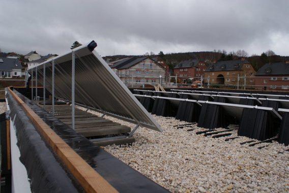 Projekt des Monats: Energiedach von Team Schramm
