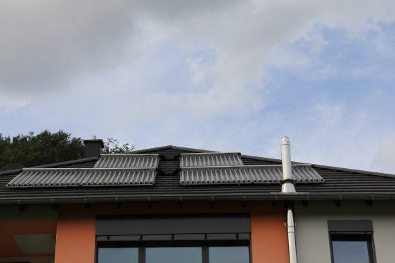 Solarthermie-Anlagen auf Haus Schramm