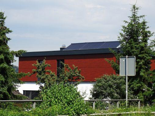 Parardigma Solarthermiekollektoren auf Dach in Lahnstein