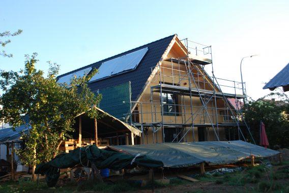 Projekt Bau eines Sonnenhauses