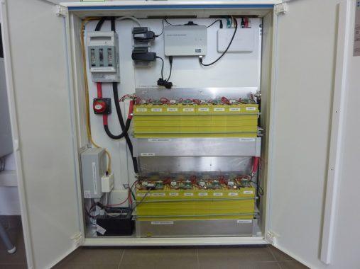 Das Innenleben des Stromspeichers. Foto: ReSYS AG