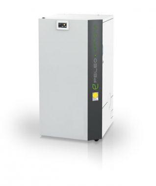 Die Pelletheizung Peleo OPTIMA von Hersteller Paradigma ist eine Pelletheizung mit Brennwerttechnik. Bild: Paradigma