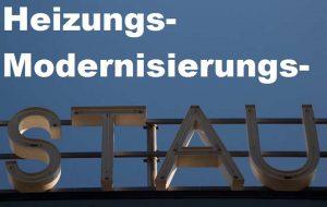 Modernisierungs-Stau bei deutschen Heizungen