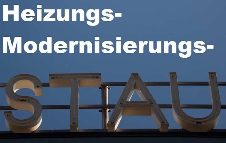 Modernisierungsstau bei deutschen Heizungen