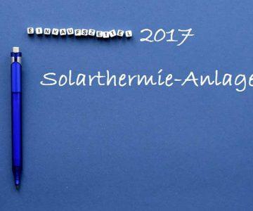 Solarthermie Prognose 2017 BSW-Prognose