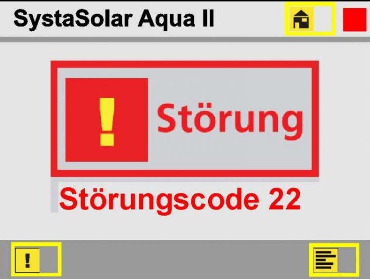 Paradigma Störung Solarregler